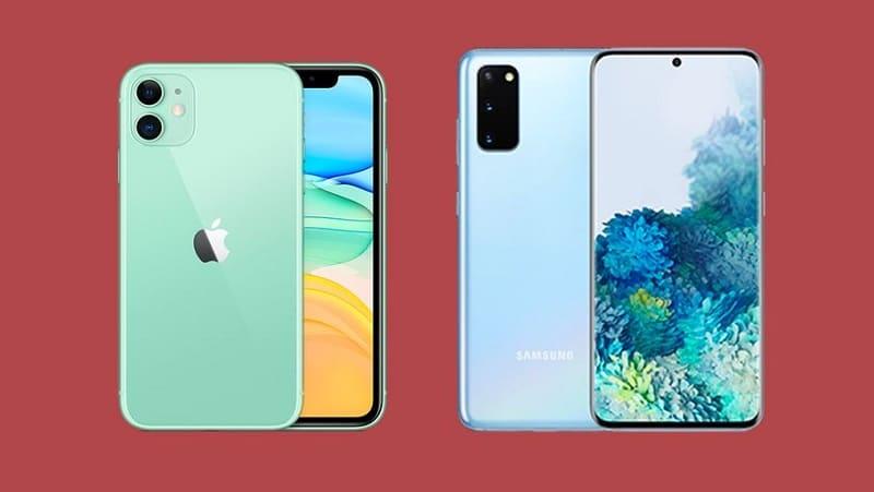 Samsung ou iphone ?